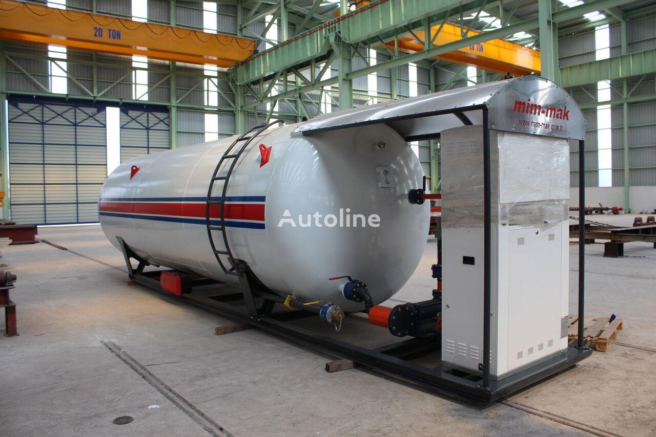 новая газовая цистерна MIM-MAK LPG SKID SYSTEM - 10 m³ / 50 m³