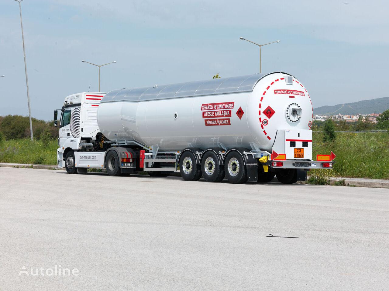 новая газовая цистерна OKT TRAILER LPG TANKER SEMI TRAILER
