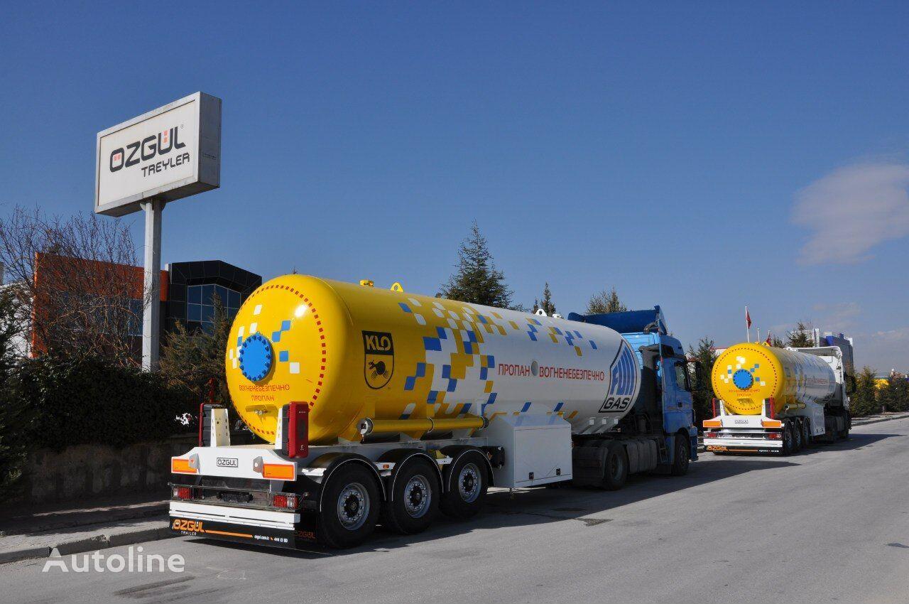 новая газовая цистерна OZGUL LPG TANK (SEMI-TRAILER)