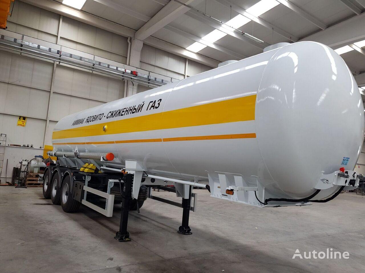 новая газовая цистерна SINAN TANKER-TREYLER аммиаковоз
