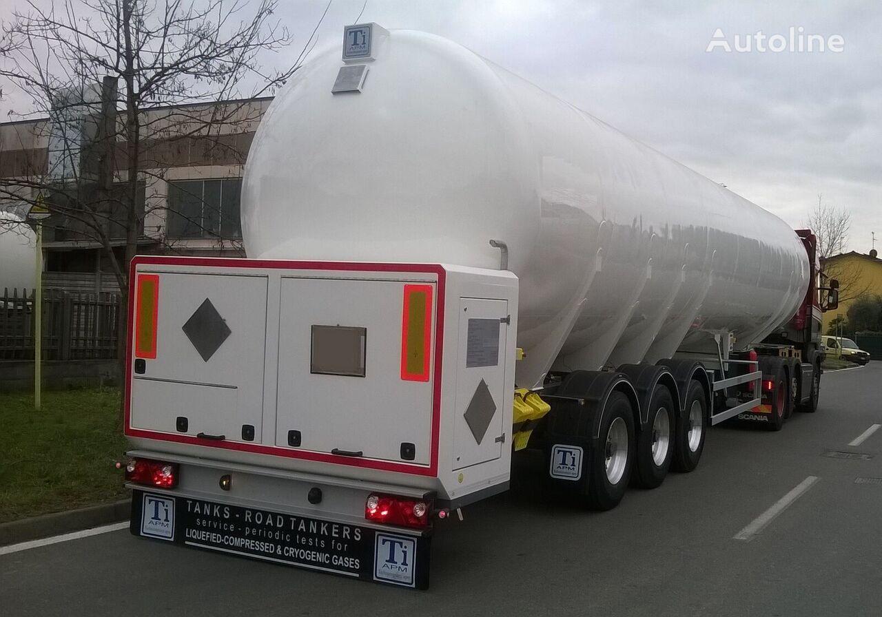 новая газовая цистерна TiAPM ITALY/ LNG