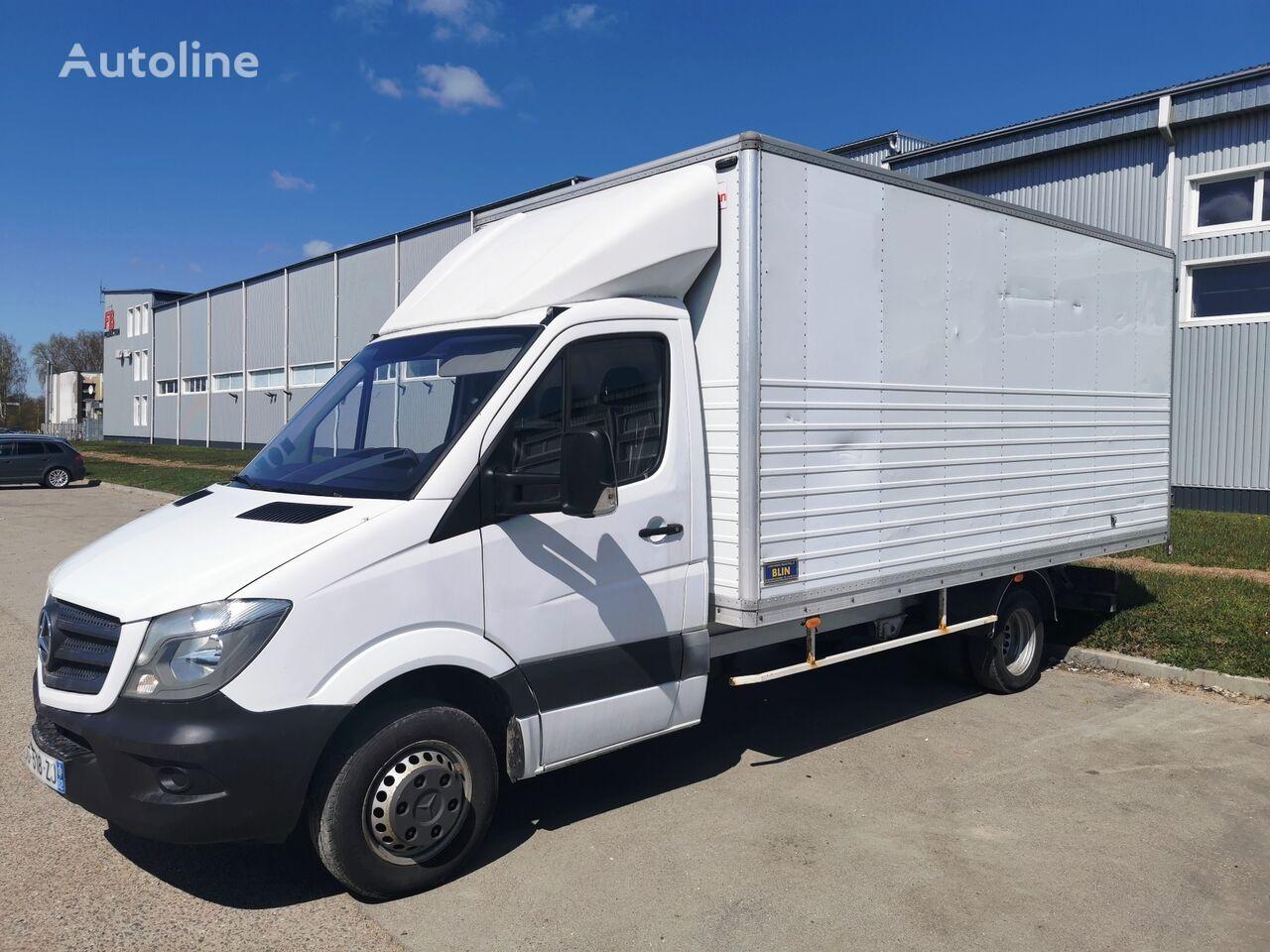 автофургон MERCEDES-BENZ Sprinter 516CDI Möbeltransport koffer Euro5