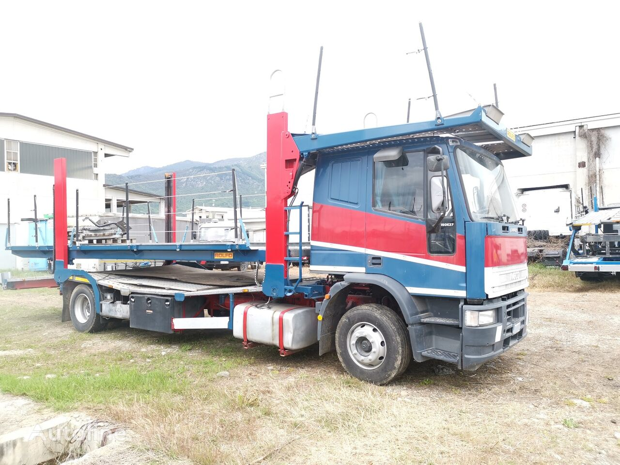 автовоз IVECO 150E27 BISARCA 5 POSTI / euro 5