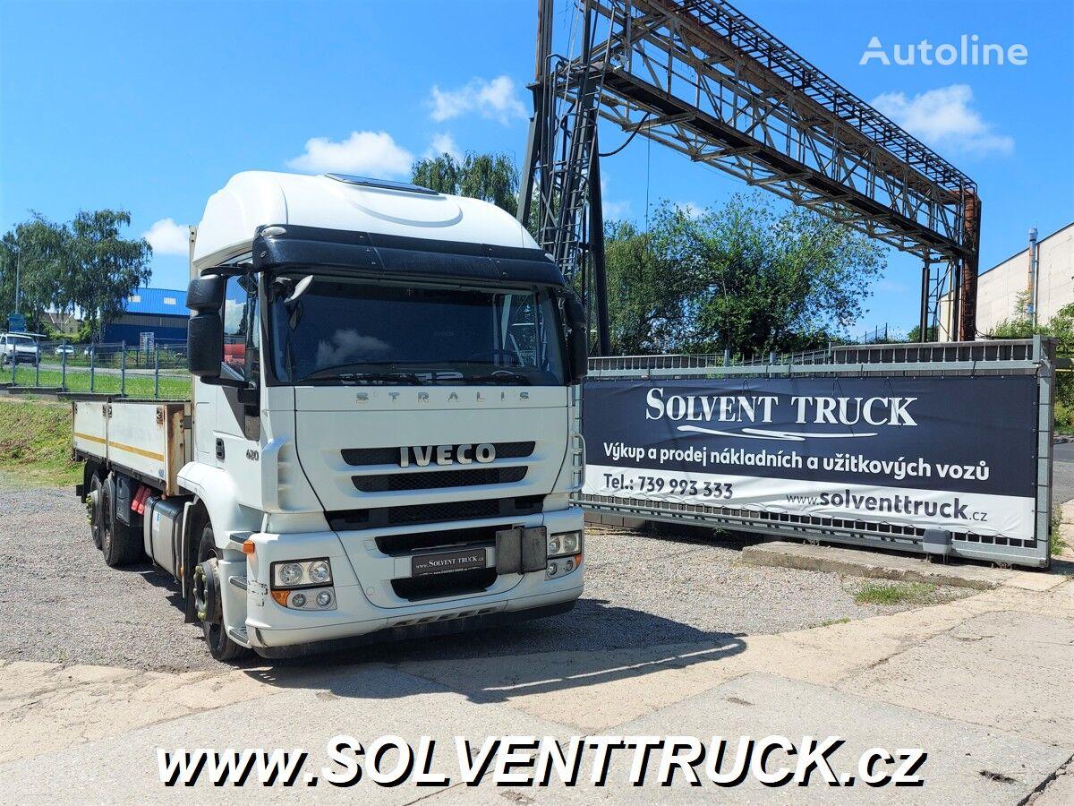 бортовой грузовик IVECO Stralis 420,EEV,6X2