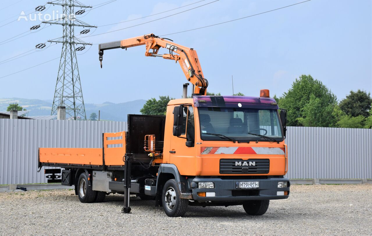 бортовой грузовик MAN LE 8.185 Pritsche 6,20m + HLK 80a1S0