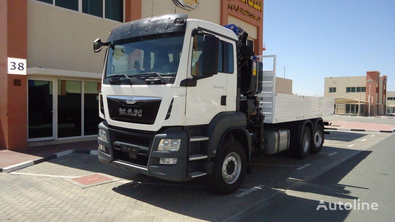 бортовой грузовик MAN TGS 26.440 6×2 PM24023 Crane 2016