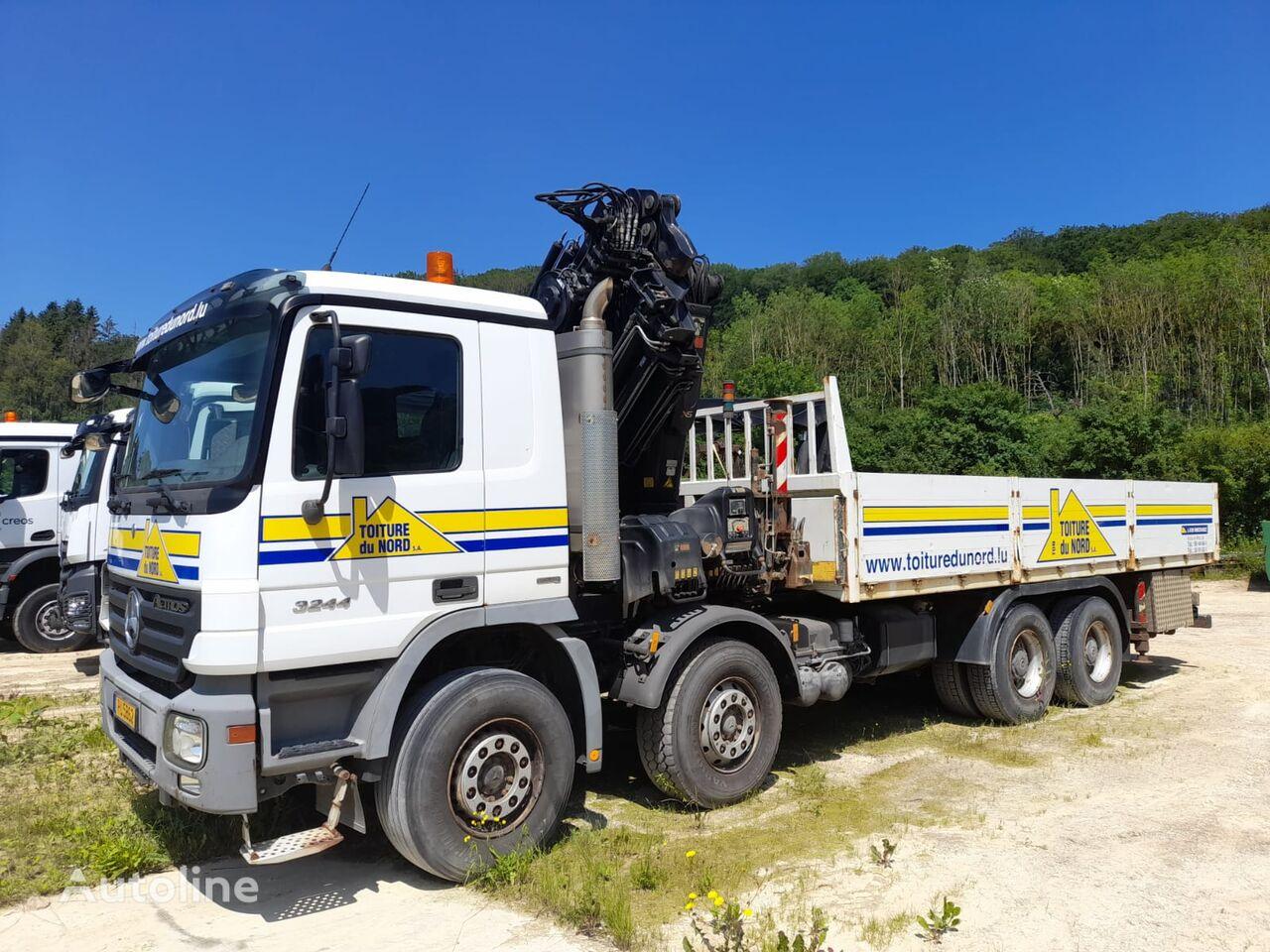 бортовой грузовик MERCEDES-BENZ Actros 3244