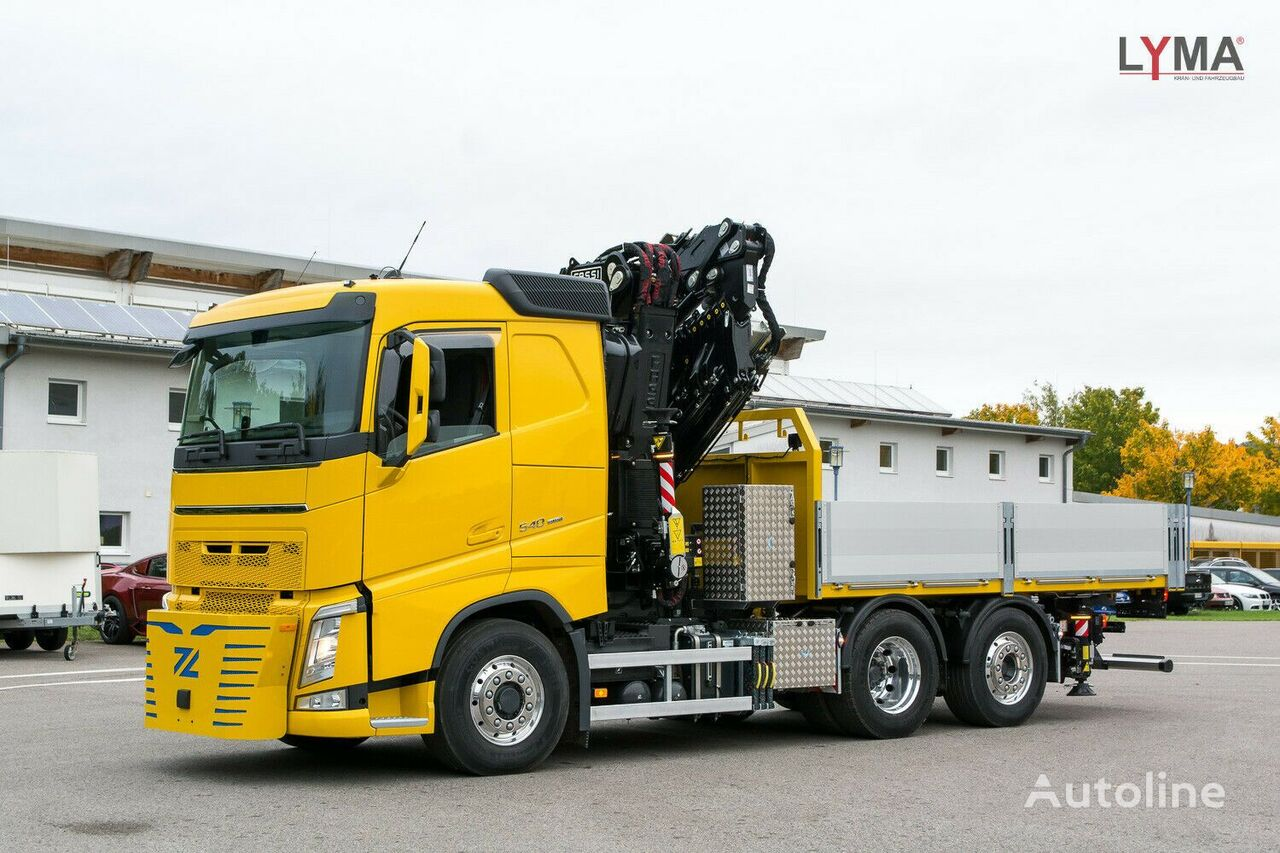 новый бортовой грузовик VOLVO 545RA2.26L324