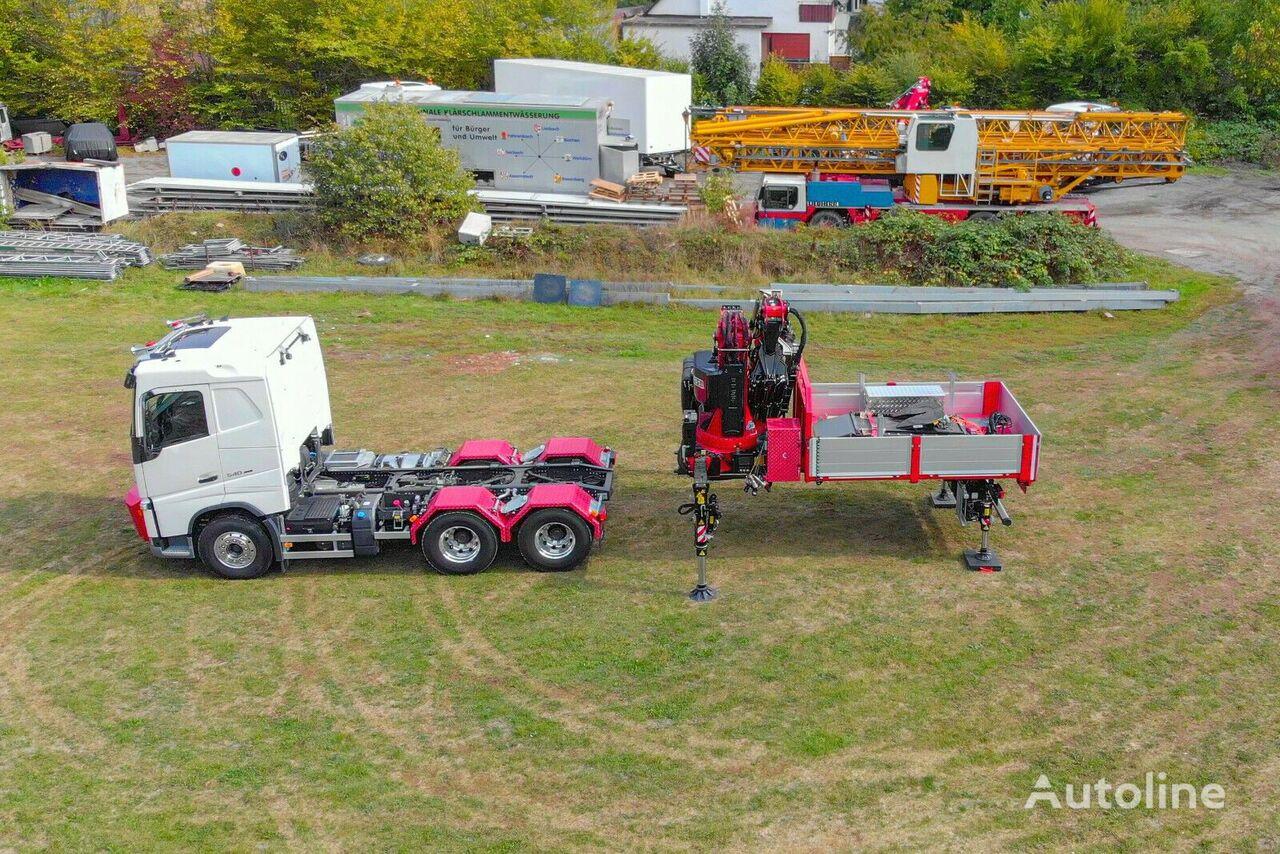 новый бортовой грузовик VOLVO FASSI F710L425 - 6x4 - WECHSELSYS - REFERENZFZG