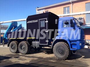 новый бортовой грузовик КАМАЗ 43118 с КМУ ИМ-150