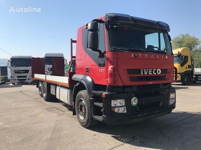 бортовой грузовик IVECO STRALIS 260S42