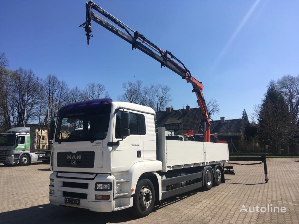 бортовой грузовик MAN 26.430 TGA