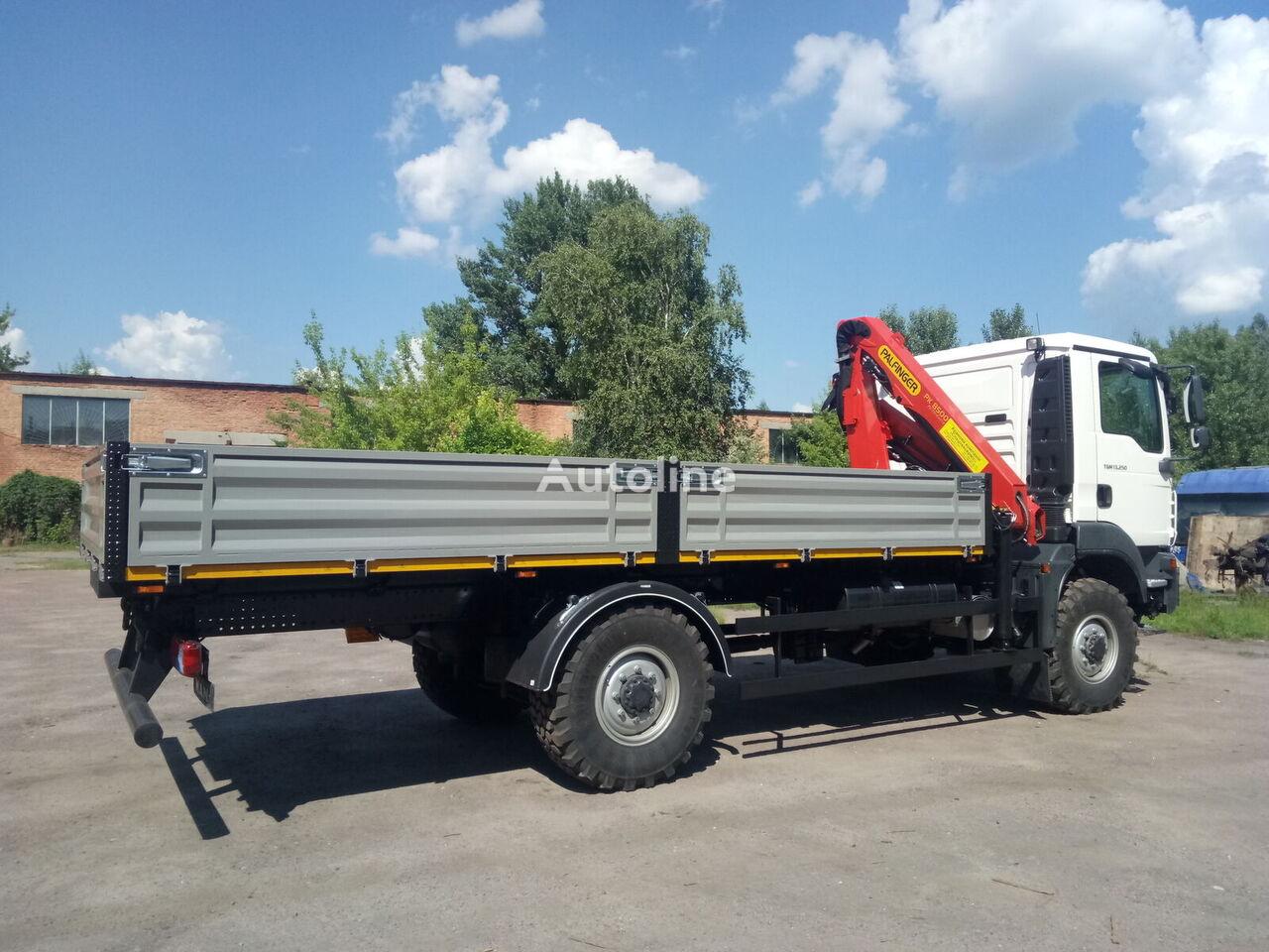 новый бортовой грузовик MAN TGM 13.250 4*4 із КМУ-PALFINGER, кредит, Гарантія
