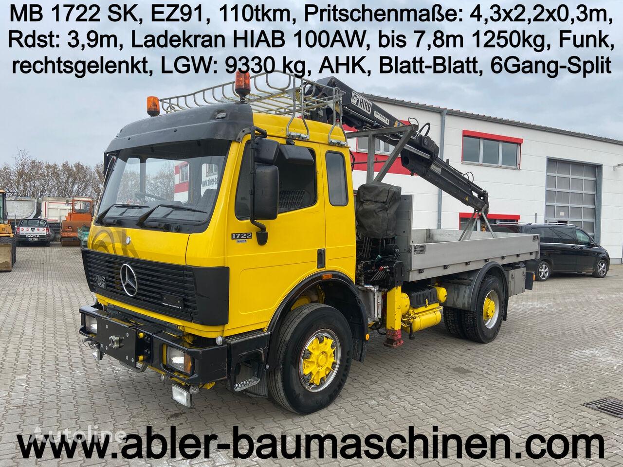 бортовой грузовик MERCEDES-BENZ 1722 SK