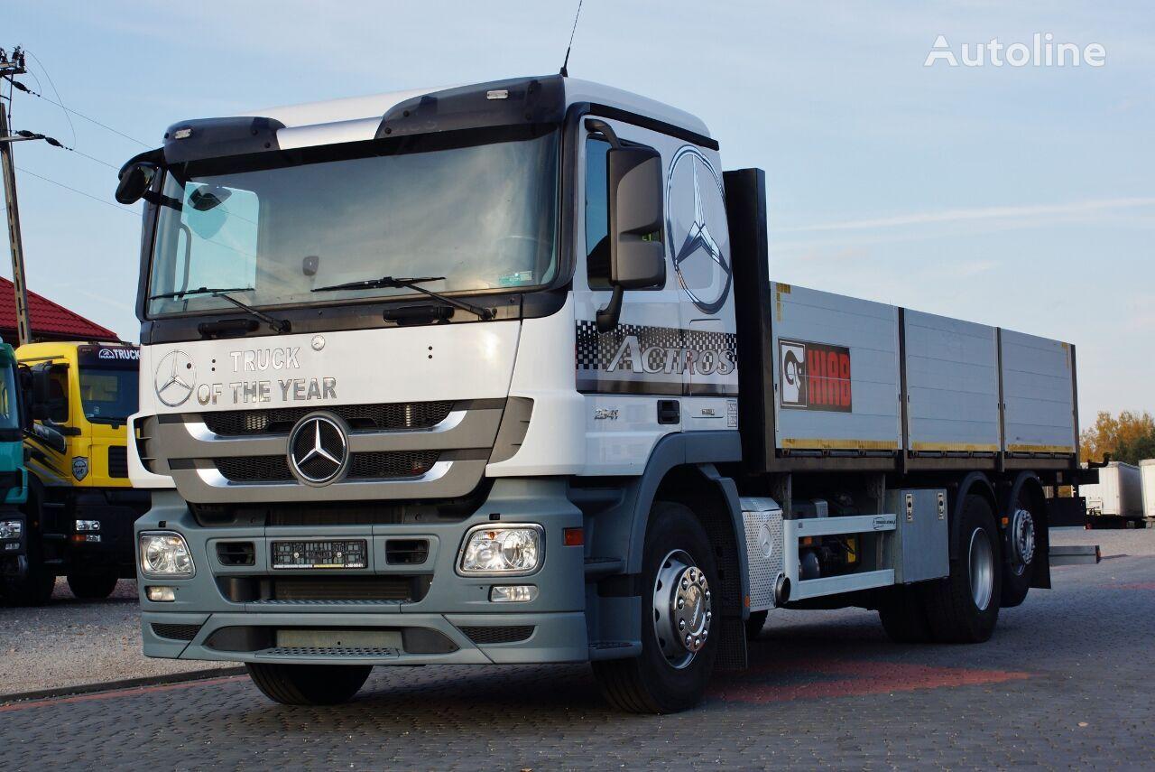 бортовой грузовик MERCEDES-BENZ ACTROS 2541