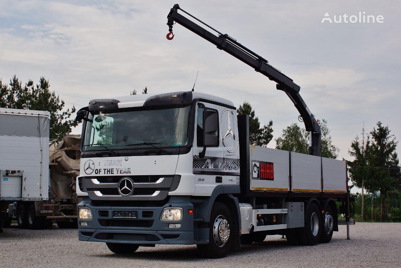 бортовой грузовик MERCEDES-BENZ ACTROS 2541 MP3
