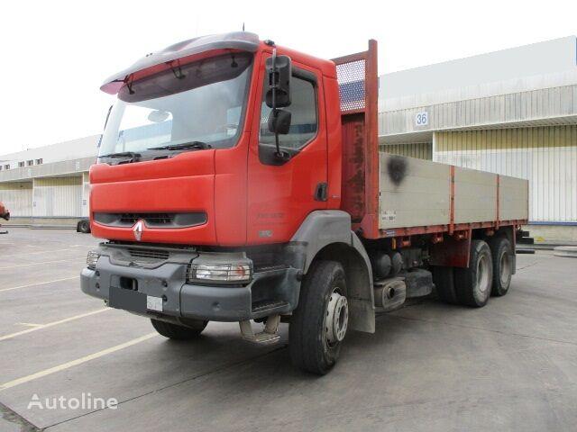 бортовой грузовик RENAULT KERAX 370.26-6X4