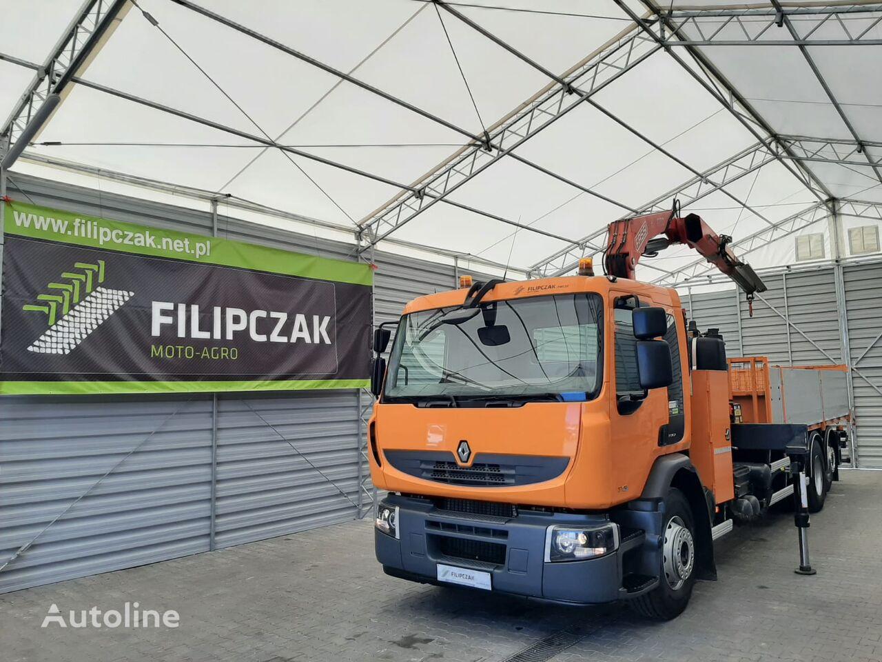 бортовой грузовик RENAULT Premium 370
