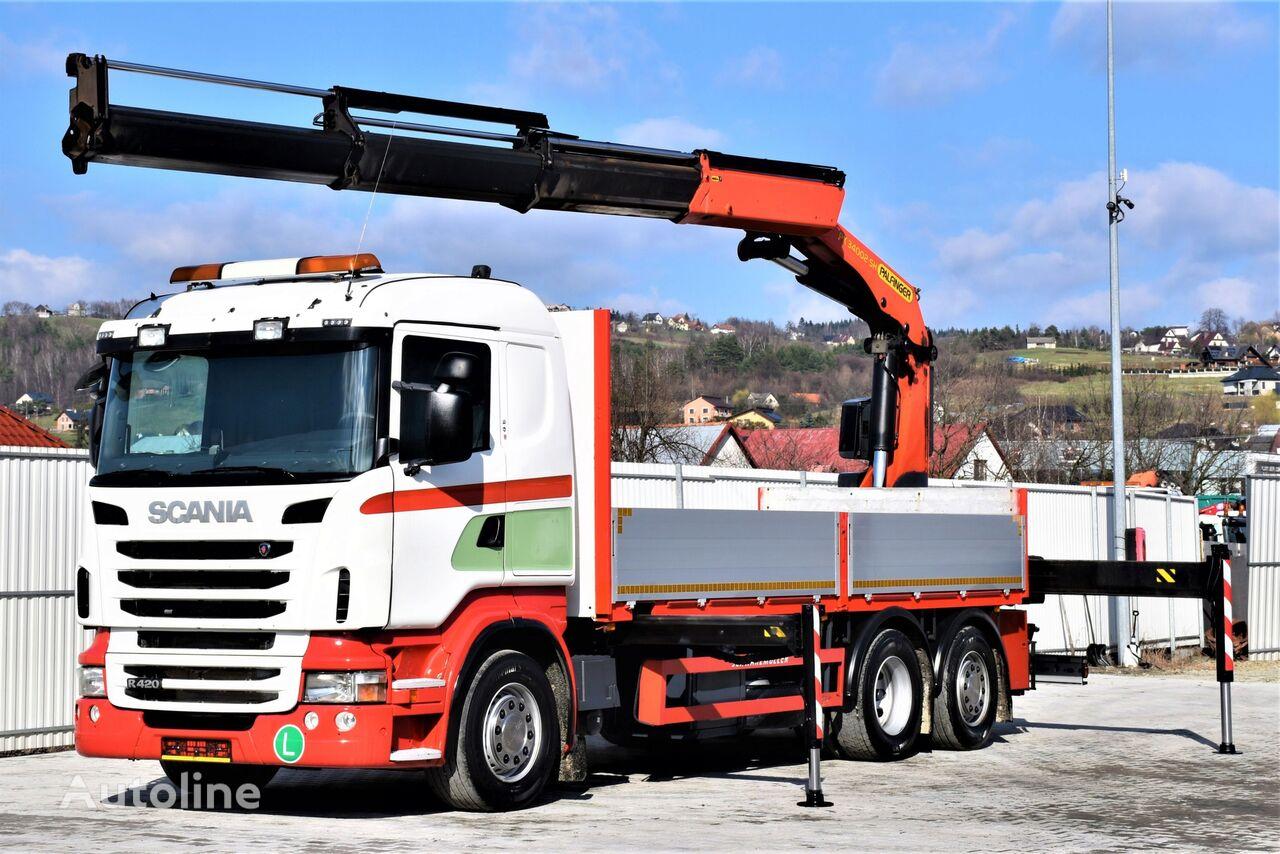 бортовой грузовик SCANIA R420