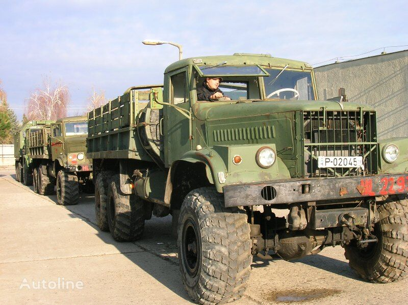 бортовой грузовик КРАЗ 255-B