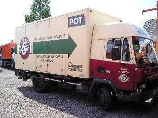 грузовик фургон DAF 800