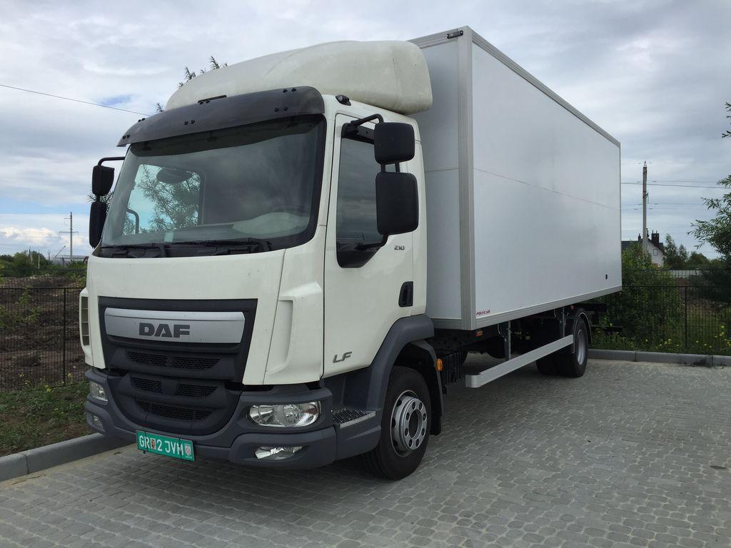новый грузовик фургон DAF LF