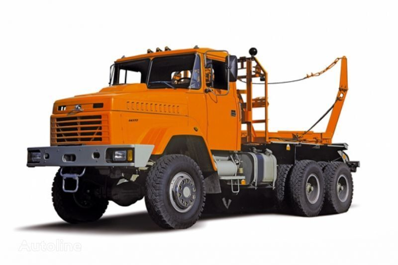 грузовик лесовоз КРАЗ 64372 тип 2