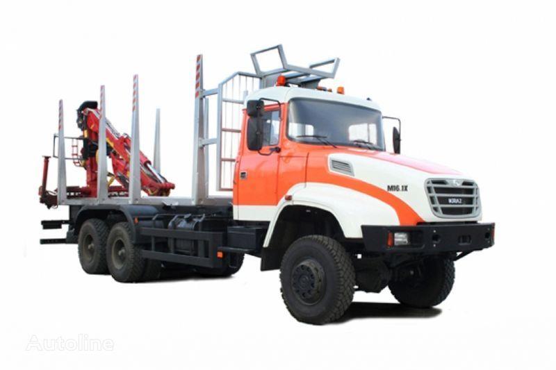 новый грузовик лесовоз КРАЗ М16.1Х
