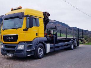 грузовик платформа MAN 26-360