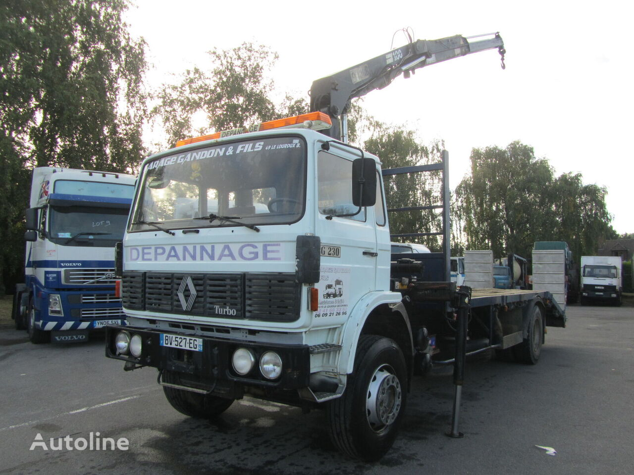 грузовик платформа RENAULT G230