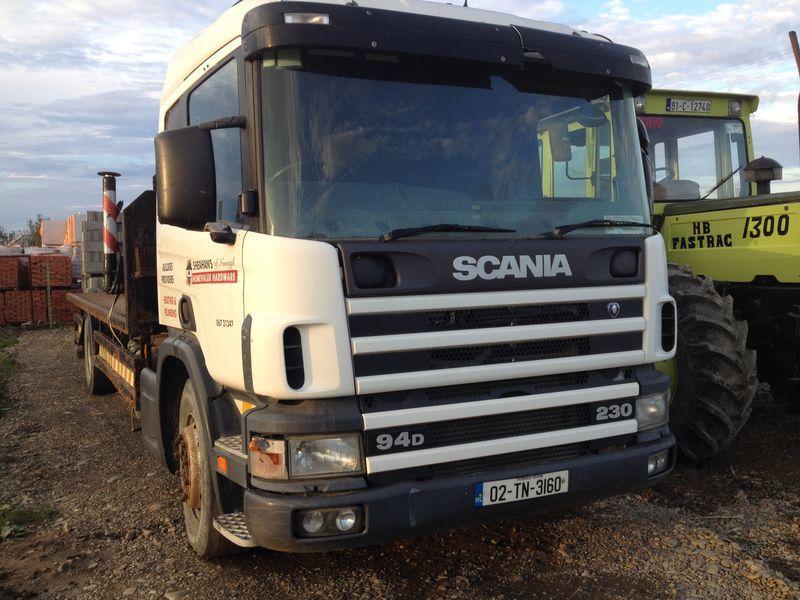 грузовик платформа SCANIA 94D