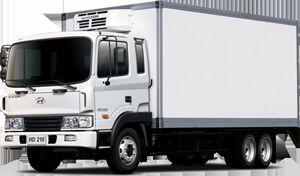 новый грузовик рефрижератор HYUNDAI HD 210