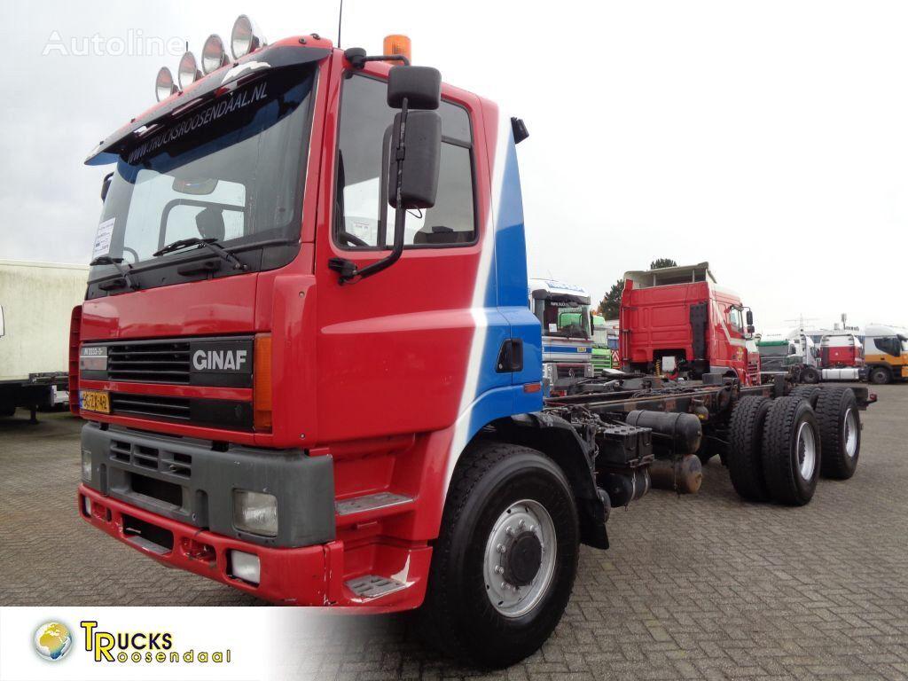 грузовик шасси GINAF M 3233 S M 3233-S EVS 400 + Euro 2 + Manual