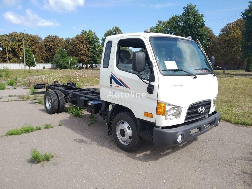 новый грузовик шасси HYUNDAI HD-78