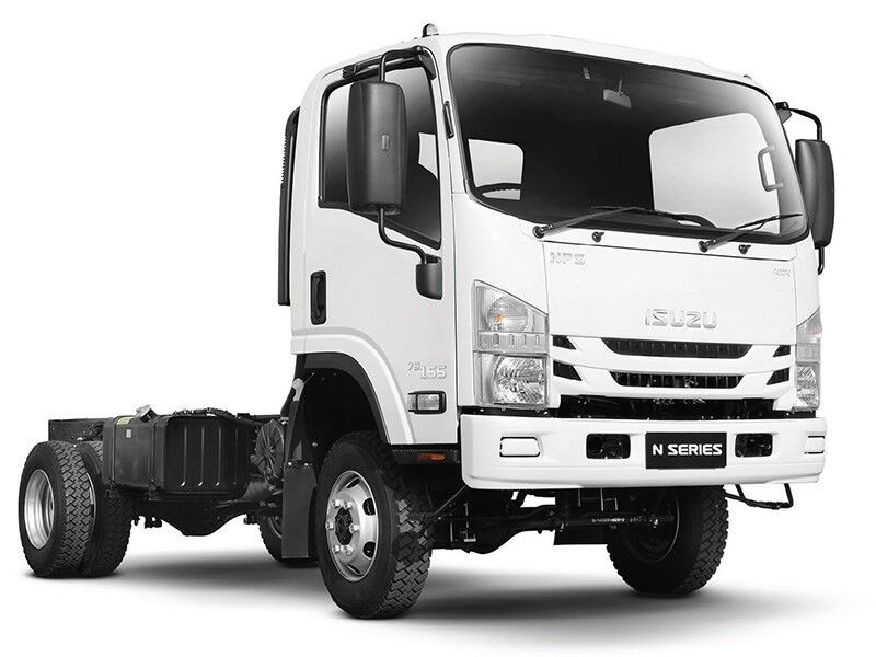 новый грузовик шасси ISUZU NPS 75 K