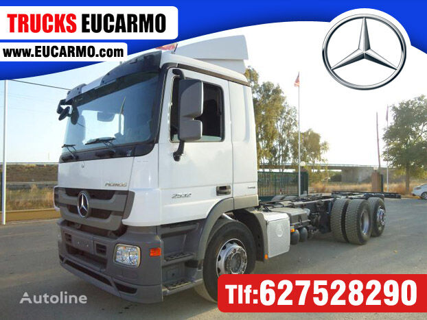 грузовик шасси MERCEDES-BENZ ACTROS 25 32