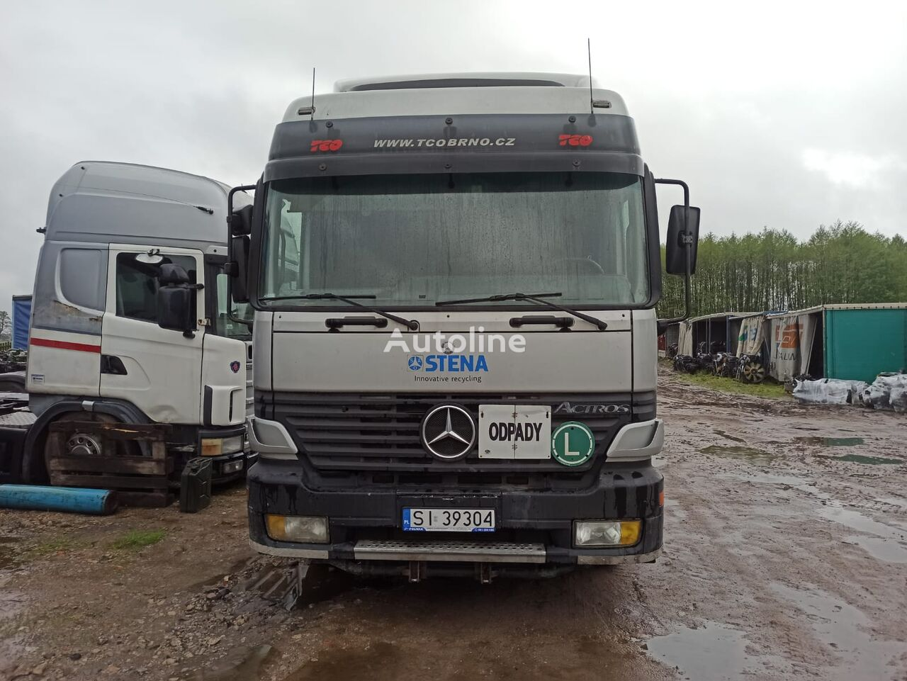 грузовик шасси MERCEDES-BENZ ACTROS 2540 EPS RETARDER