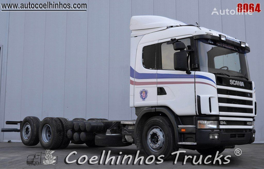 грузовик шасси SCANIA 124L 400