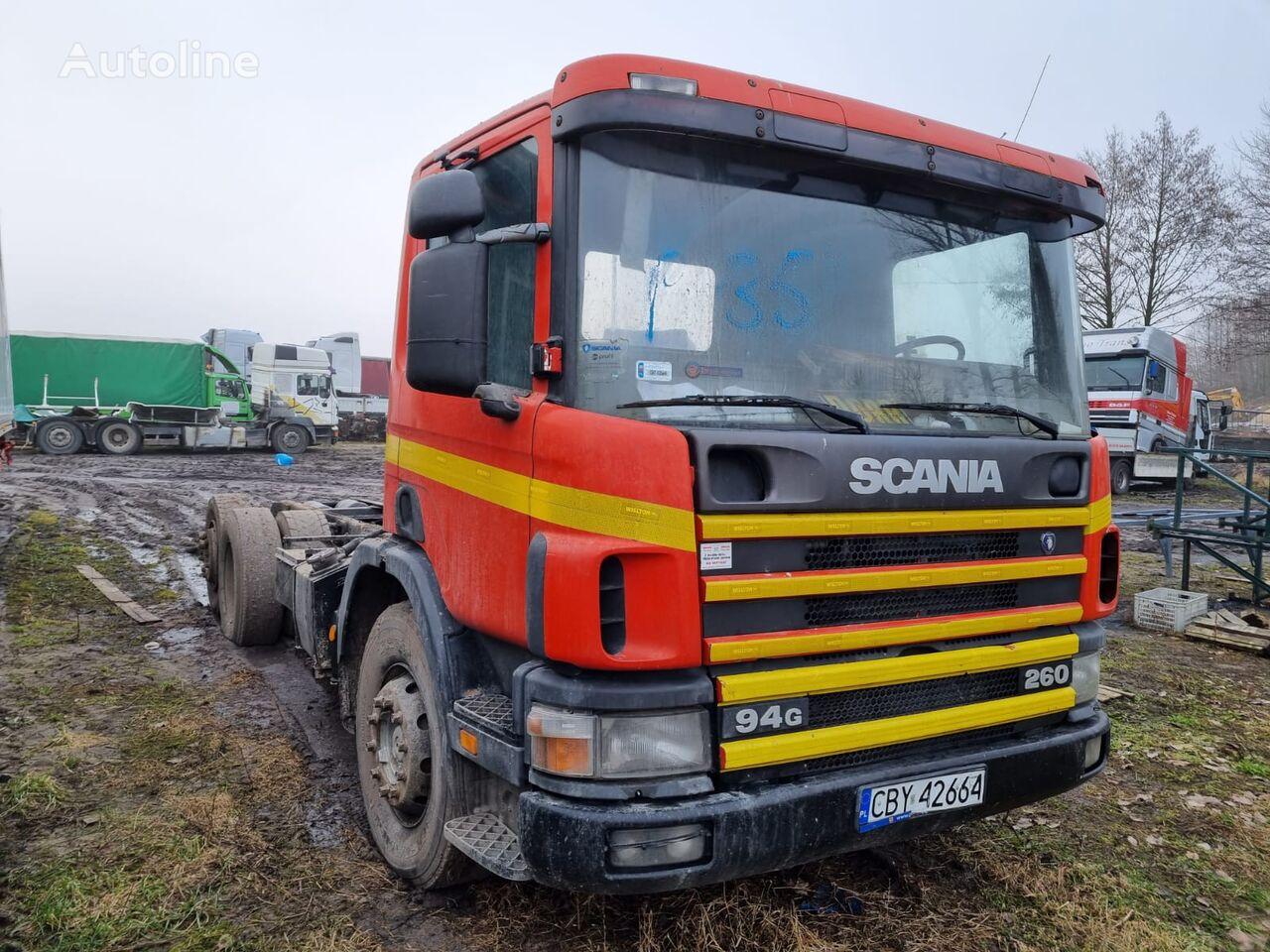 грузовик шасси SCANIA 94, 6X2 260 KM