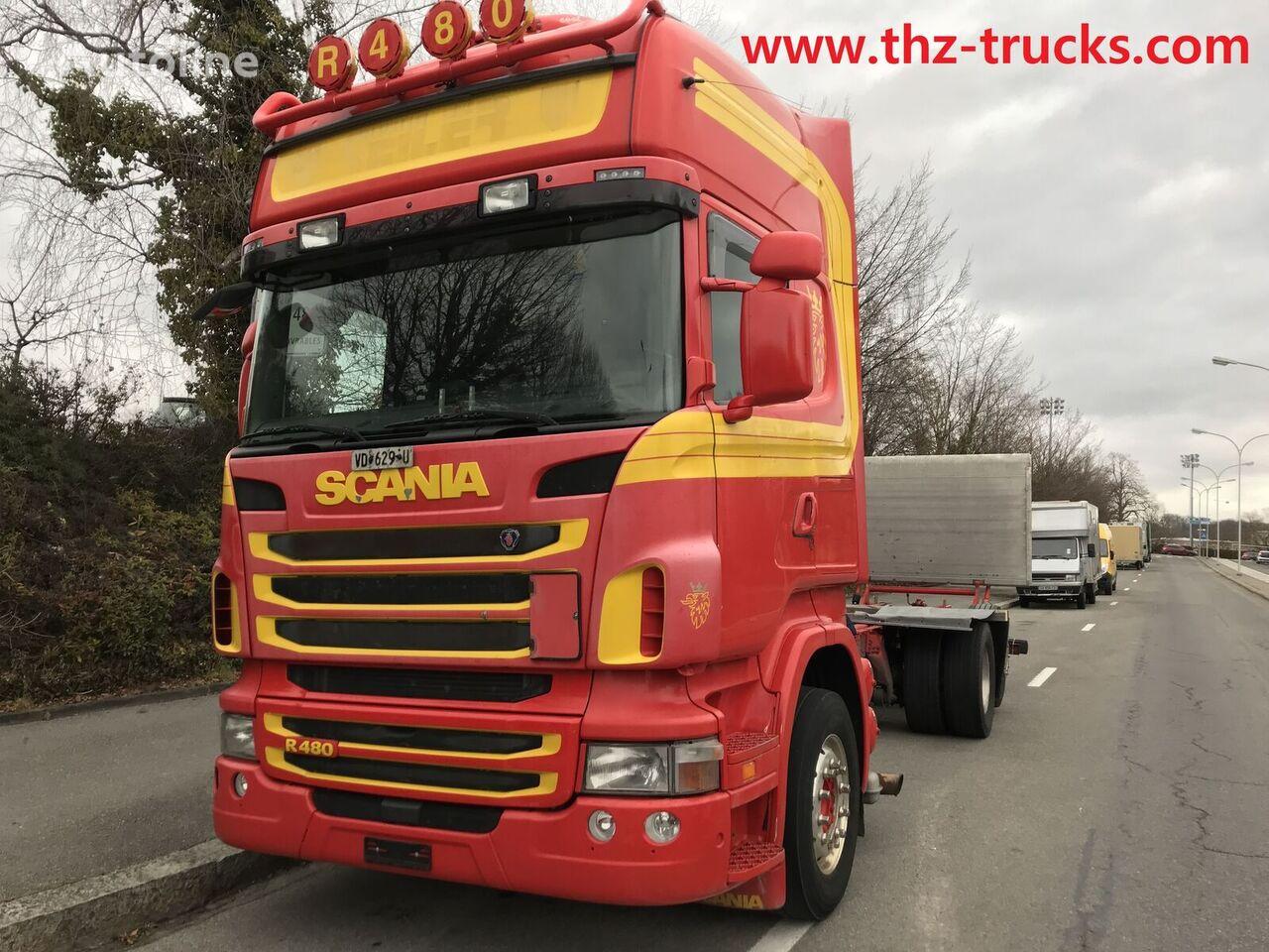 грузовик шасси SCANIA R480