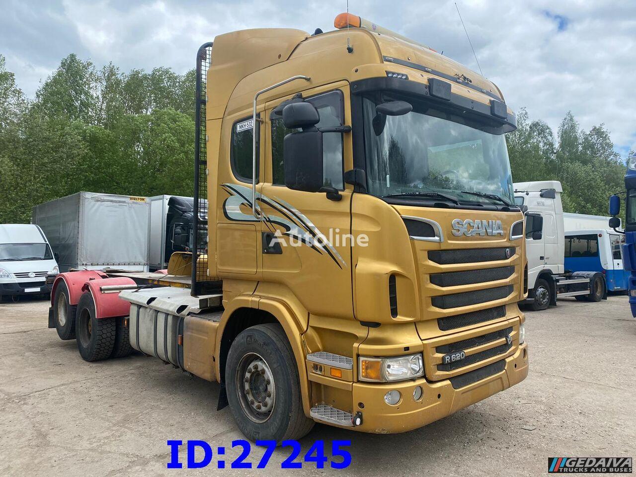 грузовик шасси SCANIA R620 6x2 - Manual - Full steel - Euro 5