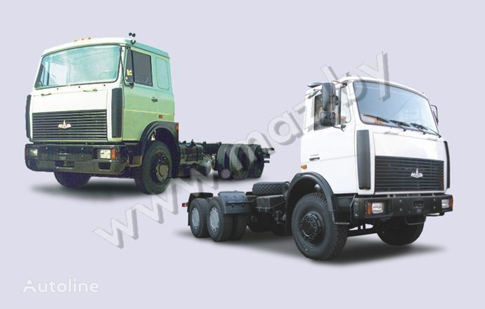 новый грузовик шасси МАЗ 6303