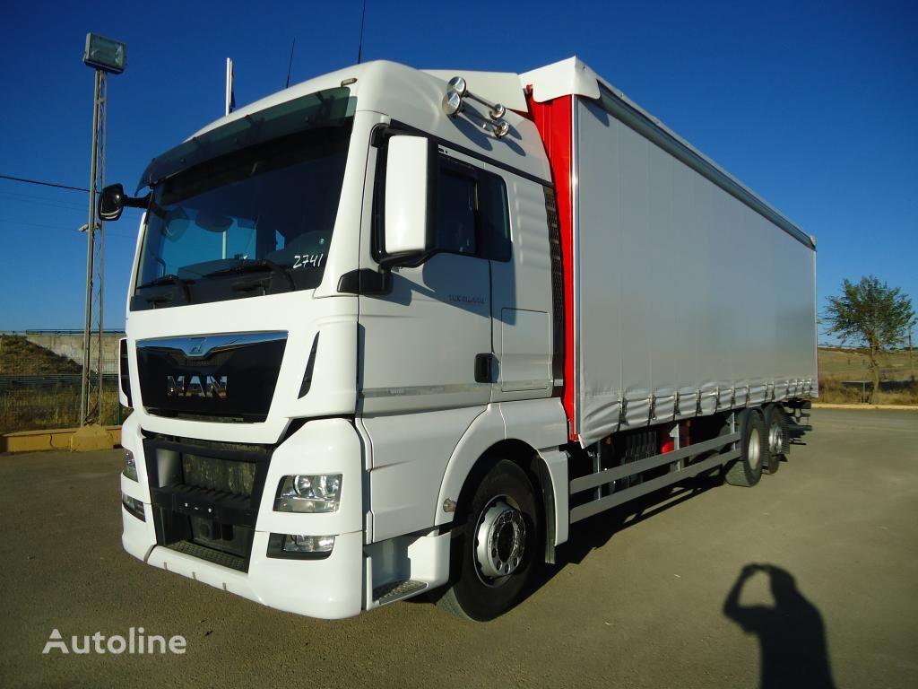 грузовик штора MAN  TGX 26 440