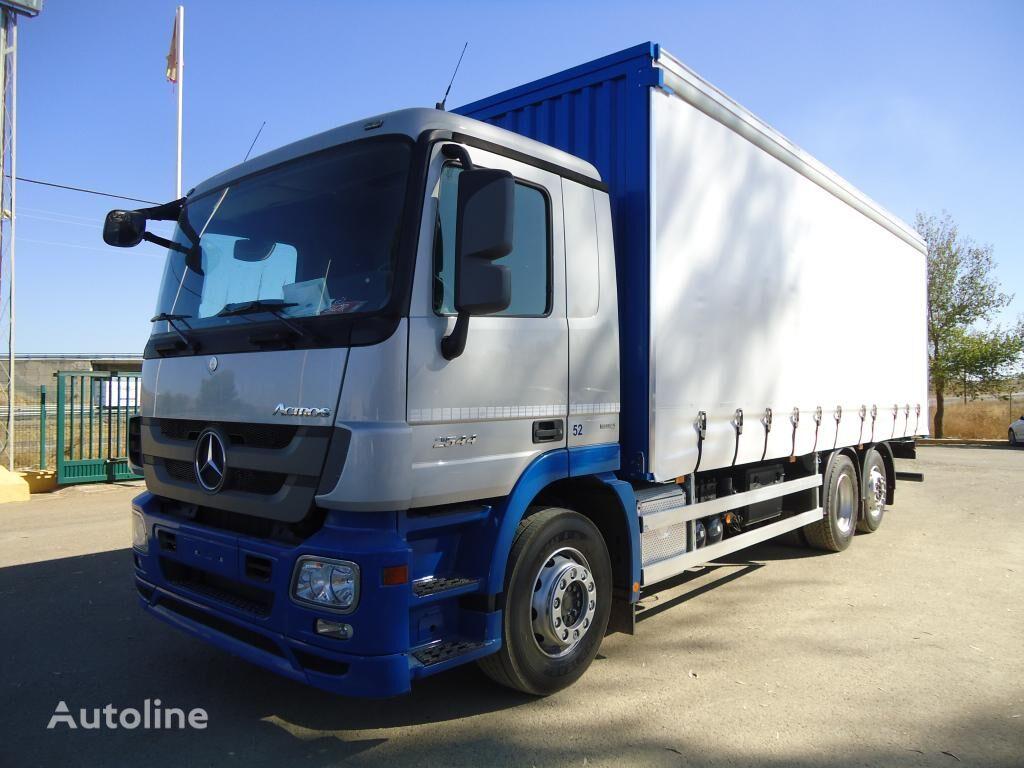 грузовик штора MERCEDES-BENZ ACTROS 25 44