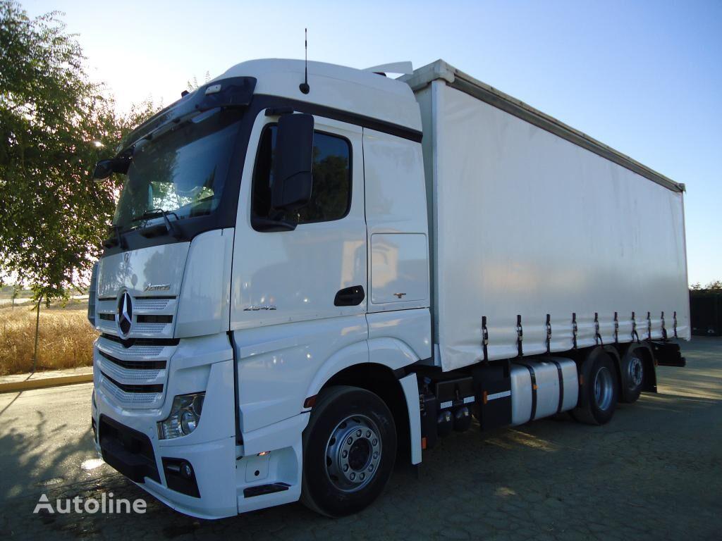 грузовик штора MERCEDES-BENZ ACTROS 25 45