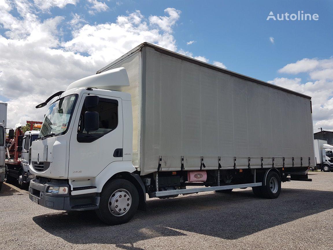 грузовик штора RENAULT Midlium