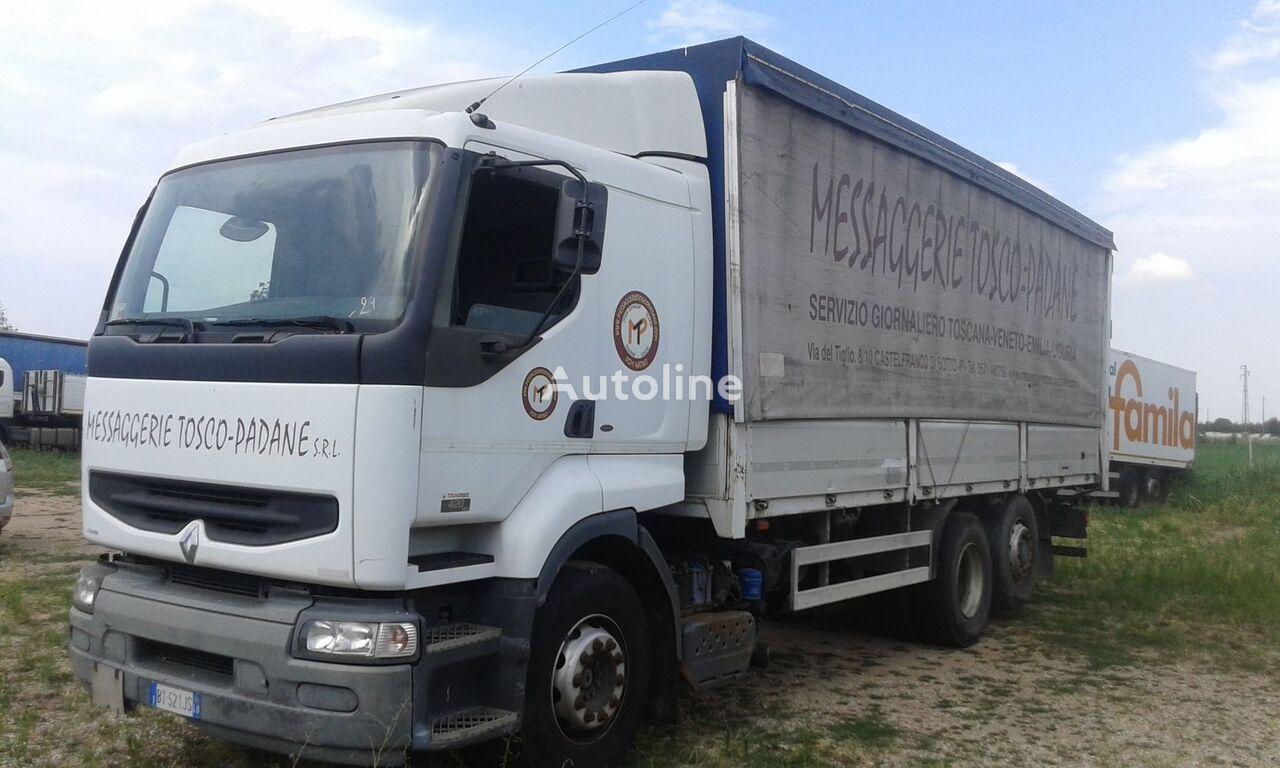 грузовик штора RENAULT PREMIUM 420 DCI