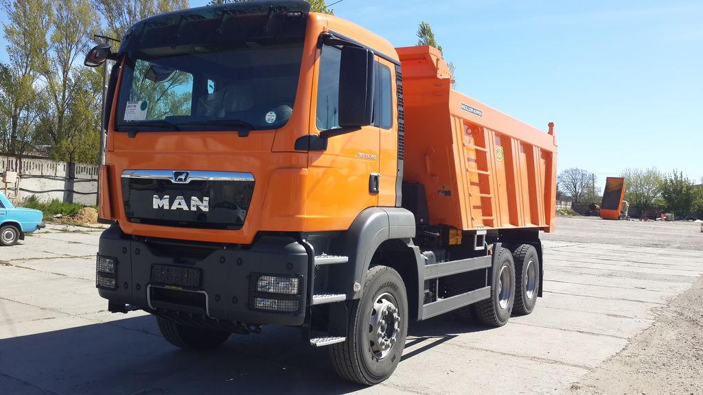 новый грузовик зерновоз MAN TGS 33.400