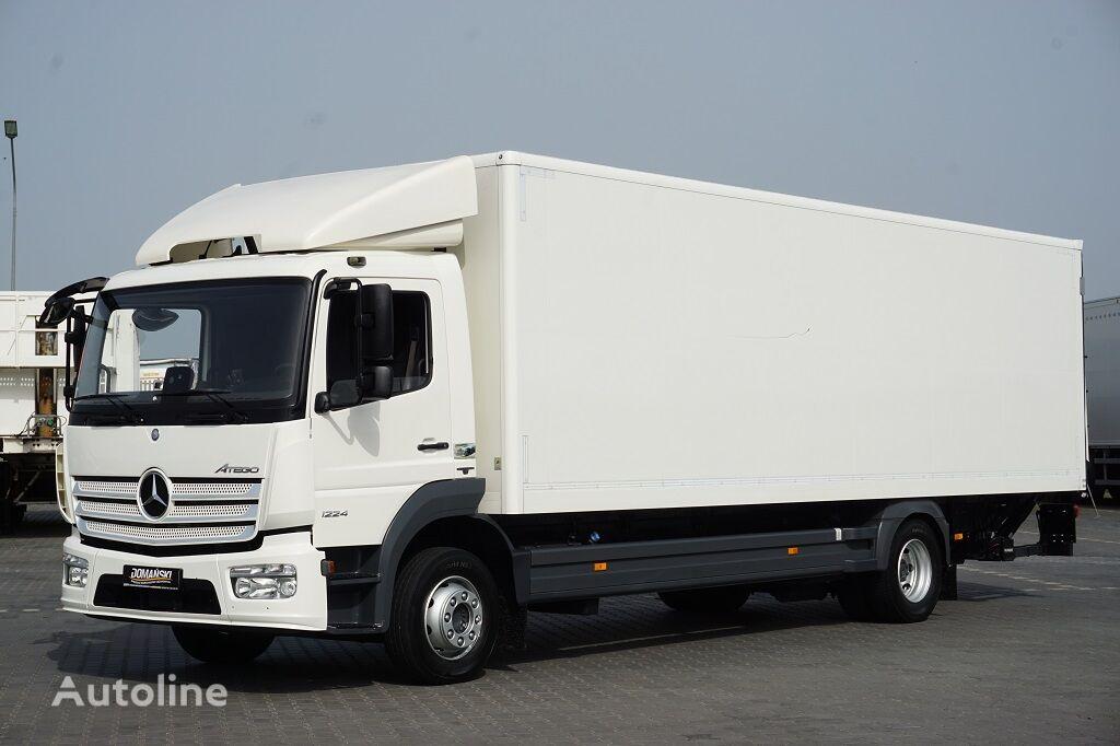 изотермический фургон MERCEDES-BENZ ATEGO / 1224 / EURO 6 / IZOTERMA + WINDA / 19 PALET / MAŁY PRZEB