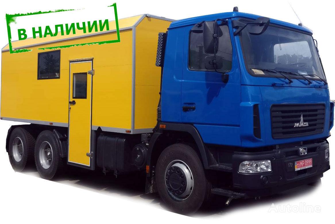 новый кунг МАЗ 6312